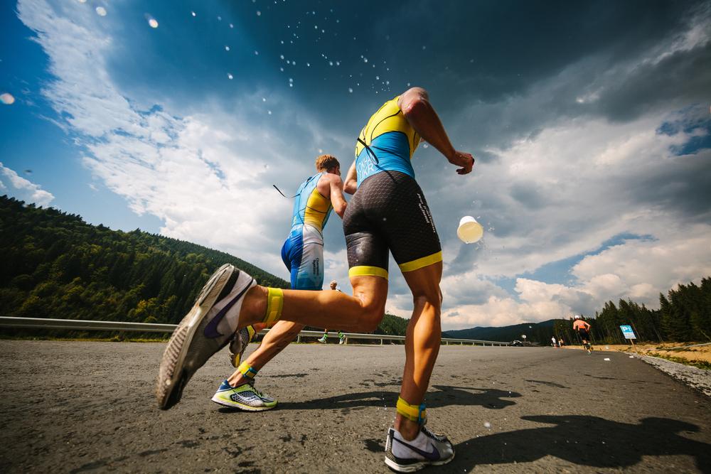 How do you pace a triathlon