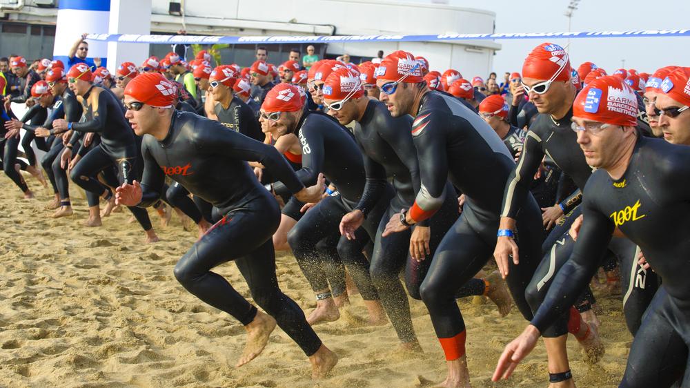 How do you train for a beginner triathlon