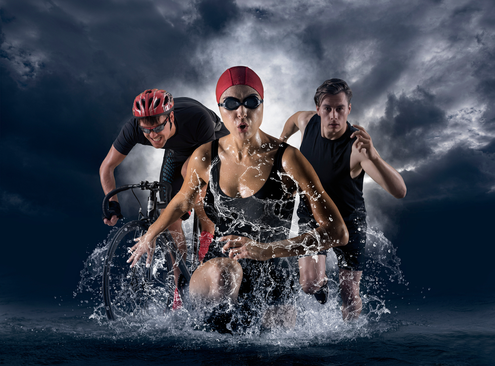 What do you wear during a triathlon?