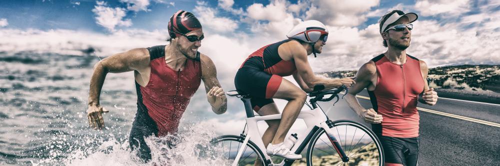 Which is harder triathlon or marathon?