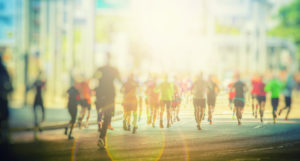What is the difference between a marathon and a triathlon?